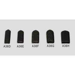 """Medium hard plastic cap for 3/8"""" bladed tools - 5 Pack"""