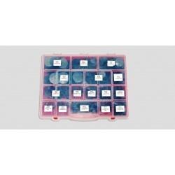 Door panel/Hood clip assortment with storage case